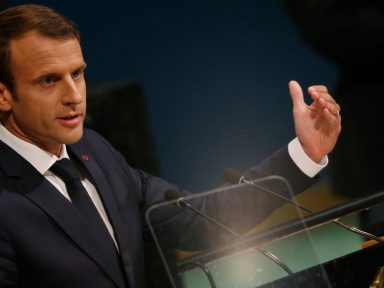Macron defende diálogo e critica hostilidade de Washington ao Irã