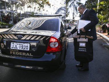 Filho do ministro do TCU e chefe de gabinete de Paulinho da Força são alvos de operação da PF