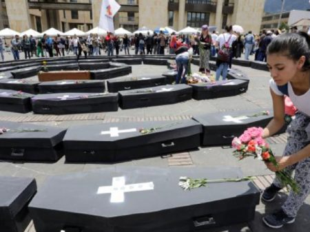 ONU denuncia morticínio de líderes populares na Colômbia