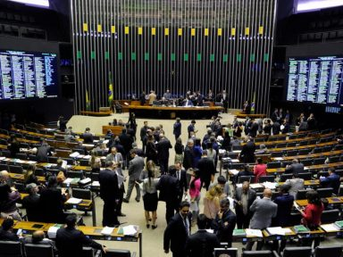 Quinze partidos se reúnem para formar bloco na Câmara