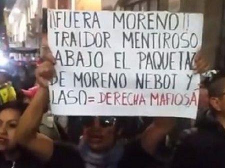 """Equatorianos: """"Não ao aumento de 25% na gasolina e ao pacotaço de Moreno"""""""