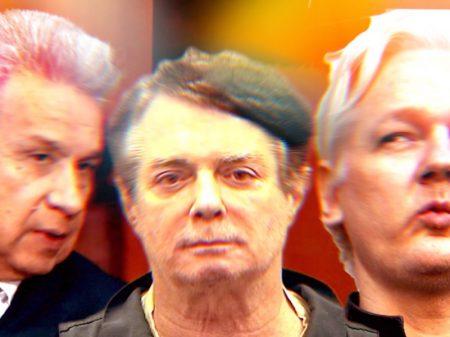 Moreno e Manafort tramaram entrega de Assange aos EUA