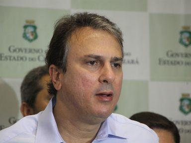 """Governador do Ceará: """"defendo a reeleição de Rodrigo Maia"""""""