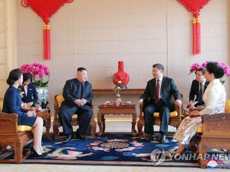 Líder chinês Jinping aceita convite de Kim para visitar Coreia Popular