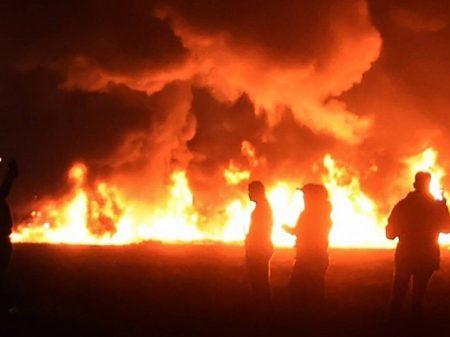 Roubo de gasolina no México acaba em explosão com 91 mortos