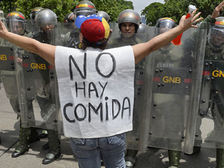 O acelerado rebaixamento salarial na Venezuela