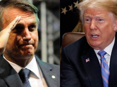 Bolsonaro bajula Trump e tira Brasil do Pacto da Migração