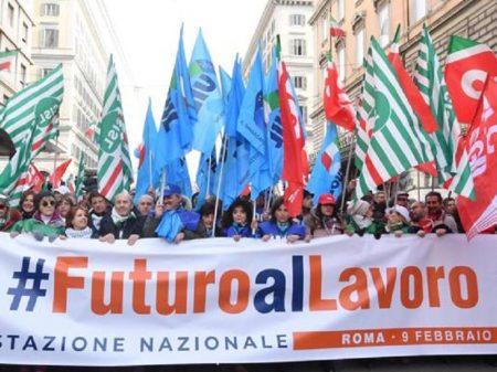 Recessão bate às portas da Itália e Centrais  exigem mais investimentos e empregos
