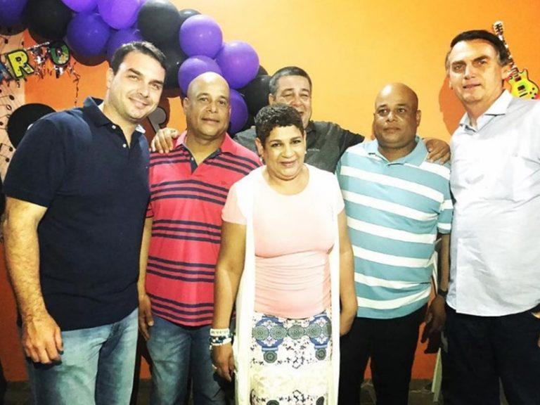 Irmã de milicianos presos assinava cheques de Flávio Bolsonaro