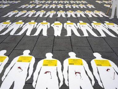 Colômbia sangra: 566 lideranças sociais assassinadas em três anos