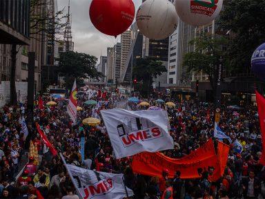 Odacir, Ana e Quézia: juntos na Paulista pela Previdência pública