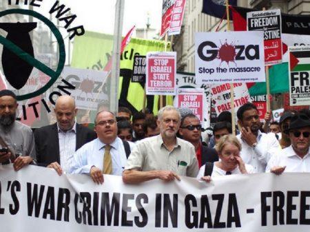 Trabalhista Corbyn exige que governo inglês suspenda venda de armas a Israel