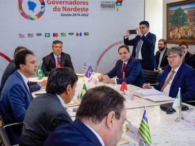 Governadores do Nordeste marcam posição contra PEC da Previdência