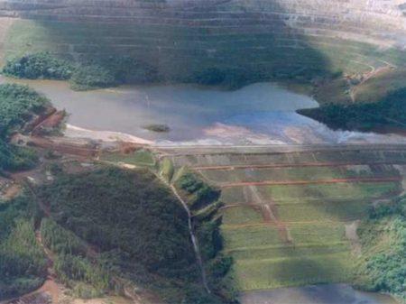Barragem da Vale em Cocais apresenta risco máximo