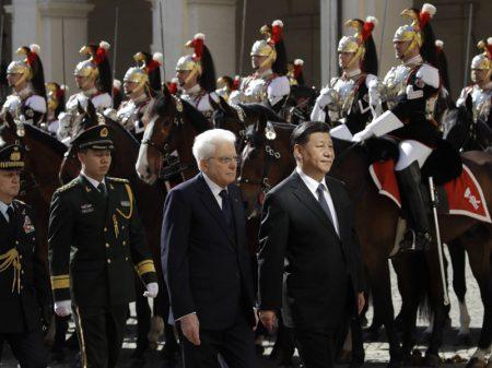 Itália adere à iniciativa da China para ampliar comércio bilateral