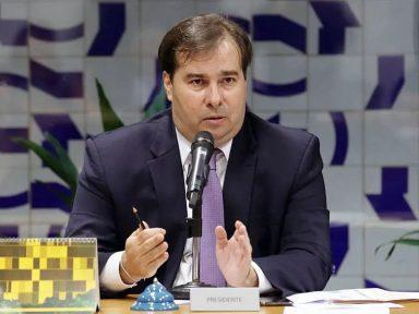 """Maia revela que governo Bolsonaro """"é um deserto de ideias"""""""
