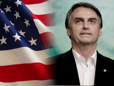 Bolsonaro entrega a Base de Alcântara e presta contas à CIA