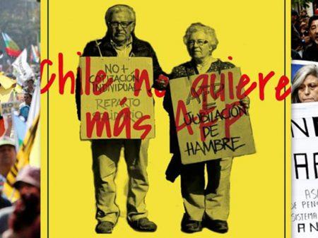 ComunicaSul vai cobrir greve geral e luta contra capitalização da Previdência no Chile