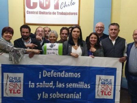Chile: entidades rejeitam  tratado comercial que viola soberania