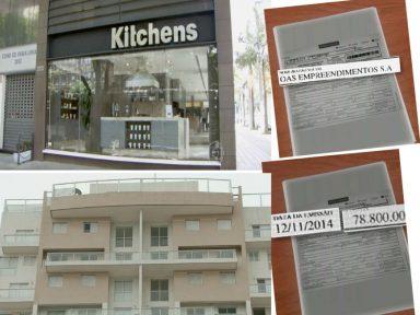 OAS pagou 312 mil para aparelhar as cozinhas do sítio e do triplex do Lula
