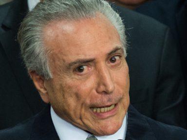 MPF de Brasília reforça denúncia contra Temer no inquérito dos portos