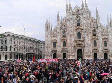 Italianos comemoram os 74 anos da vitória da Resistência sobre o nazifascismo