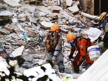 17 mortes confirmadas após desabamento de prédios na Muzema