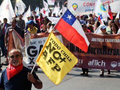 Capitalização: miséria da aposentadoria e desnacionalização da economia chilena