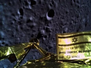 Sonda israelense se espatifa na lua