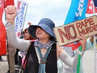 Soldado americano mata a facadas namorada japonesa em Okinawa