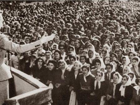 O amor ao povo e à Argentina nos 100 anos de Evita Perón