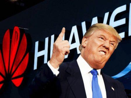 China repele banimento da Huawei da concorrência por Trump