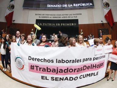 México aprova lei que estende os direitos trabalhistas às domésticas