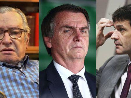 Bolsonaro condecora seu guru e o ministro do laranjal com a Ordem de Rio Branco