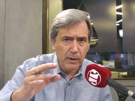 """Crítico de Bolsonaro, Marco Antonio Villa diz: """"querem calar minha voz"""""""