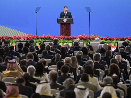"""Iniciativa Chinesa"" reúne em Pequim líderes de 37 países"