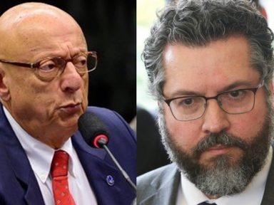 """Governo menospreza a tecnologia e as empresas brasileiras"", diz Esperidião Amin"