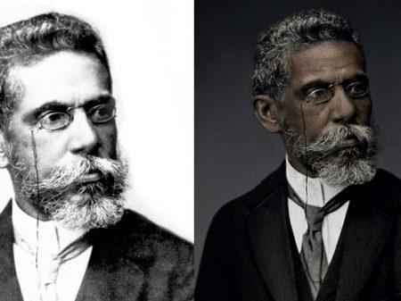 Aos 180 anos do nascimento de Machado de Assis, estudantes resgatam sua imagem