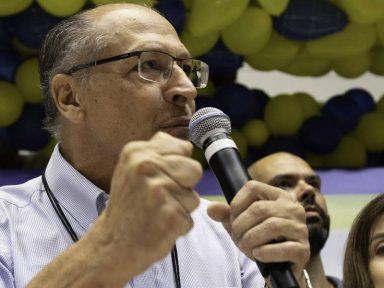 Alckmin critica o governo de Bolsonaro em convenção do PSDB