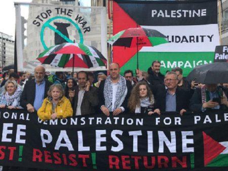 Londrinos exigem que Inglaterra pare de armar Israel