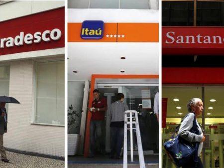Itaú, Bradesco e Santander lucram juntos 16,6 bi