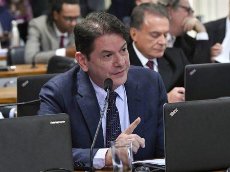 """Cid Gomes: """"o ministro Moro repetiu aqui três ou quatro mantras"""""""