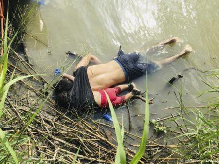 Foto de pai e filha afogados na fronteira dos EUA choca o mundo