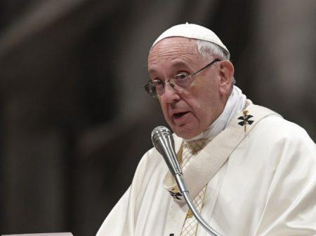 """Papa: """"Não há democracia com fome, nem desenvolvimento com pobreza"""""""