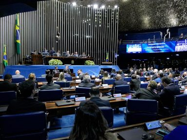 Sessão no Senado pelos 46 anos da Eletronorte rechaça privatização