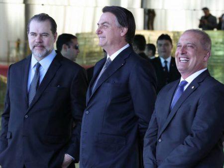 """Sem a assinatura de Maia, """"pacto"""" de Toffoli e Bolsonaro é adiado"""