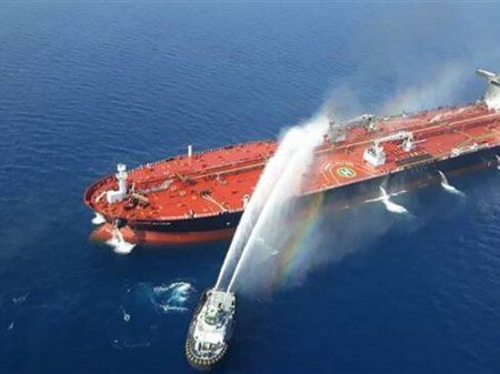 Tóquio rejeita versão dos EUA de que o Irã atacou navio japonês