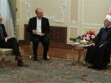 Presidente iraniano e ministro alemão se reúnem em defesa do acordo nuclear