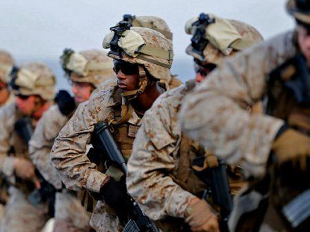 """Marines são presos por """"tráfico de drogas e de pessoas"""""""