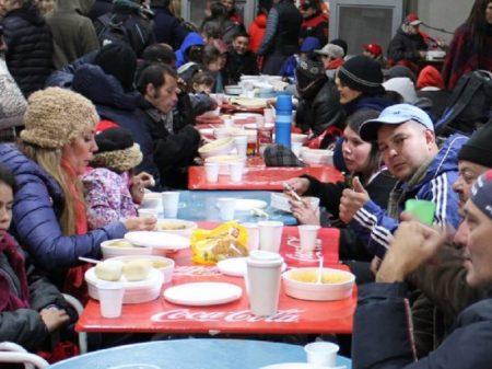 Buenos Aires: River Plate recebe em seu estádio os sem-teto ameaçados pelo frio
